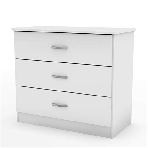 South Shore Libra Collection 3 Drawer Chest by South Shore Libra Collection 3 Drawer Chest White