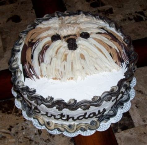 shih tzu cake shih tzu cake cakecentral