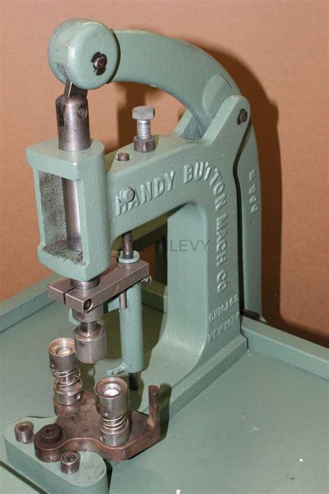 upholstery button machine handy button machine model 5a