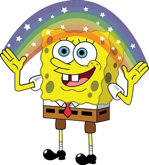 Sticker Kulkas Motif Spongebob quot spongebob imagination quot stickers by kirkdstevens redbubble