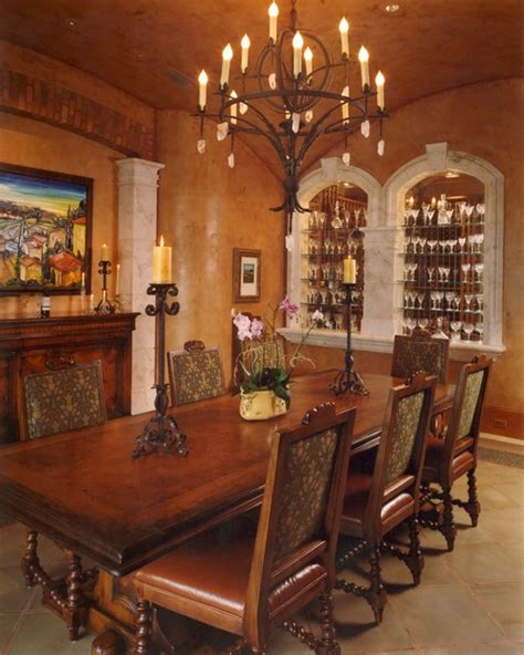 Mediterranean Dining Room by Mediterranean Dining Room