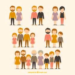 different types of families vector free