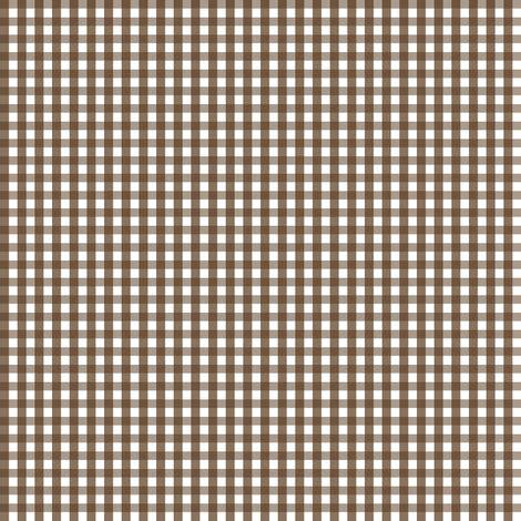 brown gingham pattern gingham brown fabric misstiina spoonflower