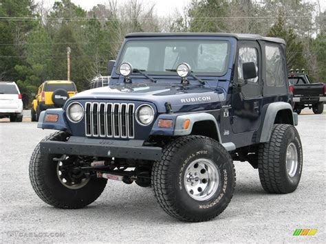 dark blue jeep rubicon 1997 dark blue pearl jeep wrangler rubicon 4x4 24436635