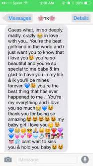 When he sends you a long paragraph we heart it love