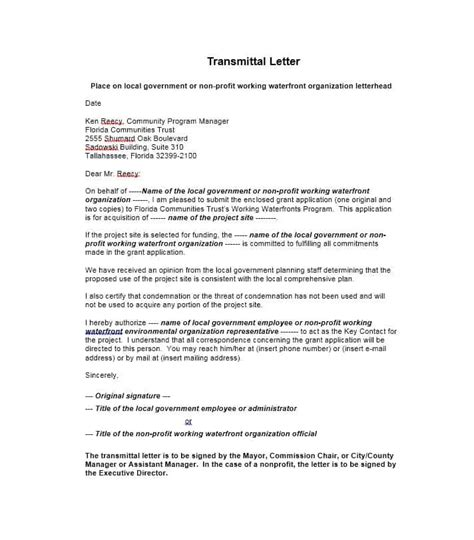 transmittal letter for collection free fillable pdf forms free