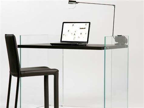 scrivanie in vetro temperato scrivania in vetro temperato scribe zen 8 by adentro