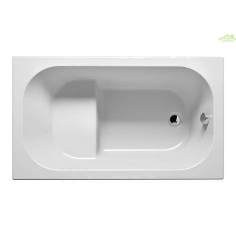 baignoire 120x70 baignoire acrylique riho kely petit 120x70 cm maison de