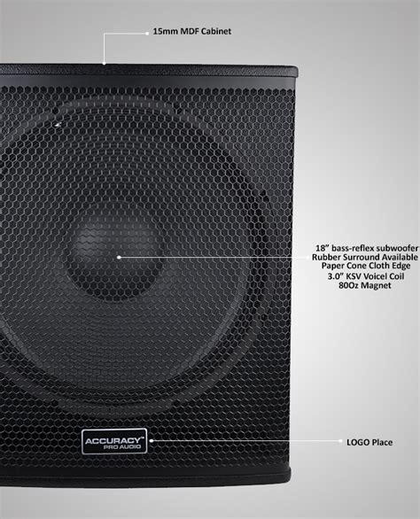 Speaker Subwoofer 18 Inches dj bass speaker 18 inch subwoofer speaker wh18 view 18