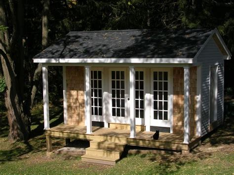 potting shed traditional garage and shed boston by