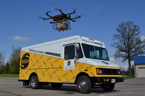 how is a truck how trucks can delivery drones a lovesick