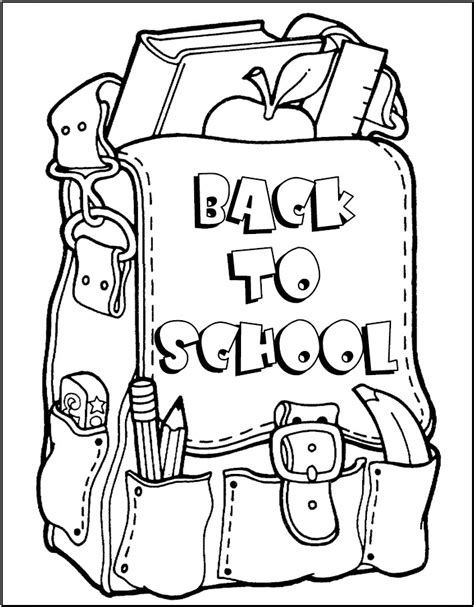 Back To School Coloring Pages Free | disney coloring pages kids coloring pages christmas