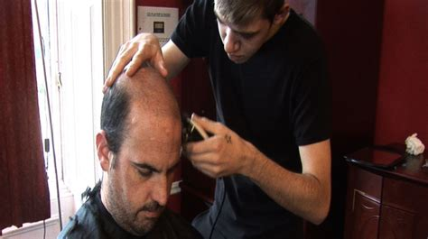 student haircuts glasgow telford college students provide free haircuts for