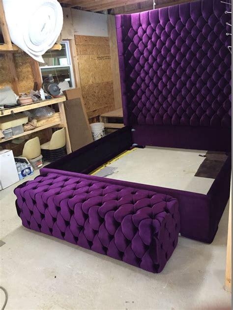 diy tufted headboard king best 25 purple headboard ideas on boards diy tufting diy and karla mercado