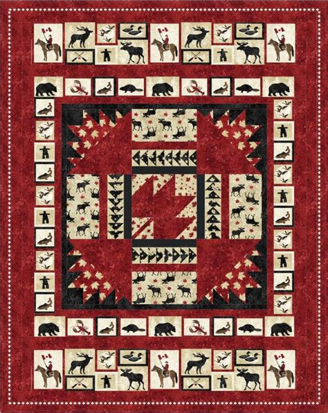Size Quilts Canada Oh Canada Downloadable Pattern