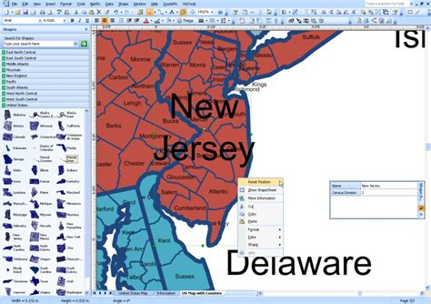 visio map of usa visio mapshapes for states and counties in united states