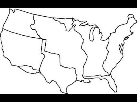 printable us expansion map manifest destiny map outline youtube