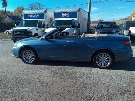 2011 Chrysler 200 For Sale by Chrysler 200 Convertible For Sale Carsforsale