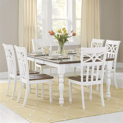 Dining Room Furniture White White Dining Room Set Marceladick