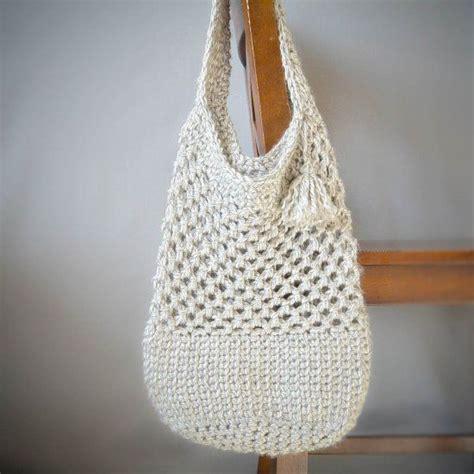 crochet grab bag pattern this beautiful crocheted market bag has a sturdy bottom