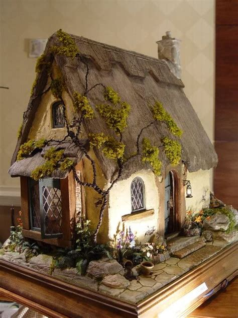 dollhouses cottages and miniature on