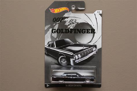Hotwheels Bond Paket 2 Pcs wheels 2015 bond 007 64 lincoln continental goldfinger