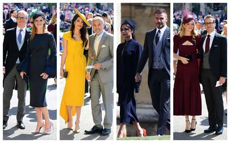 The Best Dressed Guests At The Royal Wedding Who Stole The