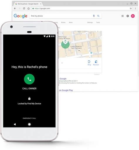 Gmail Finder Introduces Find My Device