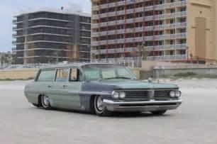 1962 Pontiac Safari Wagon 1962 Pontiac Safari Air Ride Bagged Patina Wagon Rat Rod