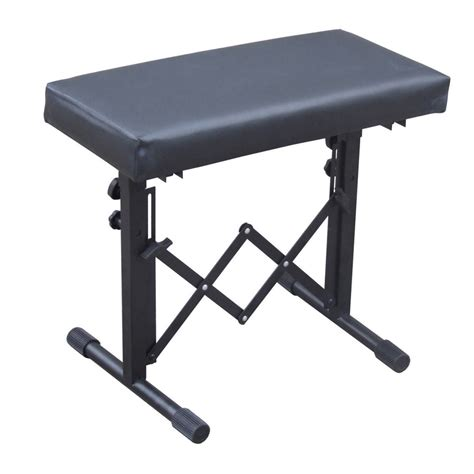 Adjustable Folding Stool by Fold Away Height Adjustable Keyboard Stool