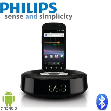 android alarm clock philips as111 05 speaker with bluetooth for