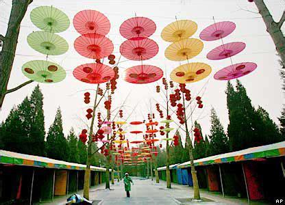 decoracion china fiestas decoradas con sombrillas chinas