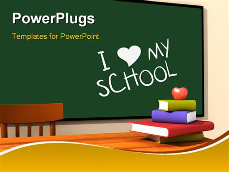 free animated powerpoint templates for teachers 3d render of the inside of a classroom with i my