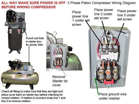 3 phase air compressor wiring diagram car wiring diagram