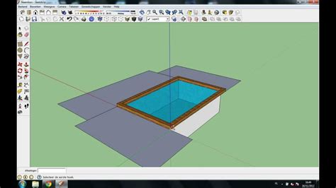tutorial memakai google sketchup tutorial how to make a swimming pool in google sketchup