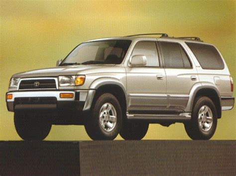 1998 Toyota Forerunner Mpg 1998 Toyota 4runner Specs Safety Rating Mpg Carsdirect