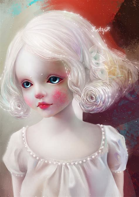 doll artworks hey did i scare you by latyll on