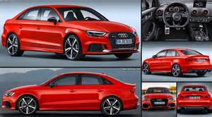 Audi Rs3 Sedan Audi Rs3 Sedan 2017 Pictures Information Specs