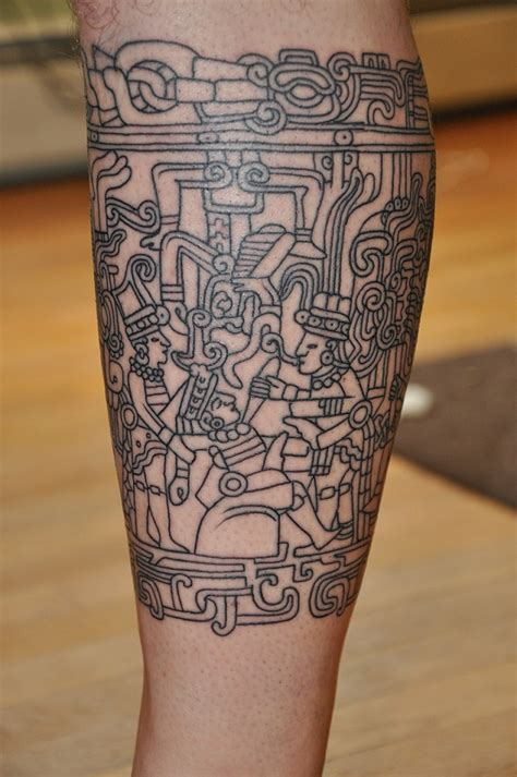 mayan tribal tattoo designs 12 magnificent mayan tribal tattoos only tribal