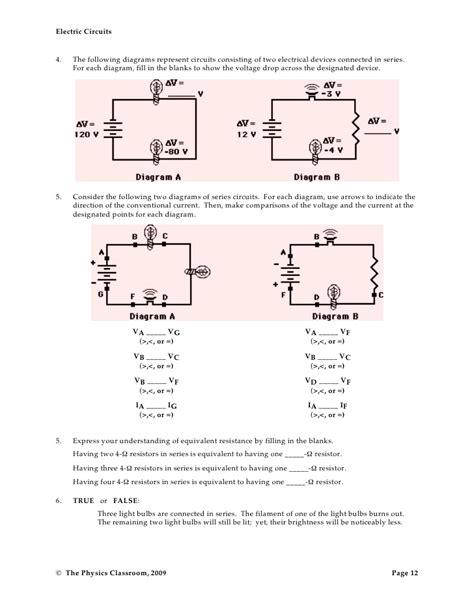 resistors in circuits worksheet circuits resistors worksheet 28 images circuit calculation practice worksheet and answers by