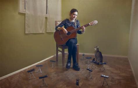 cat guitar wallpaper wallpaper cat guitar girl music images for desktop