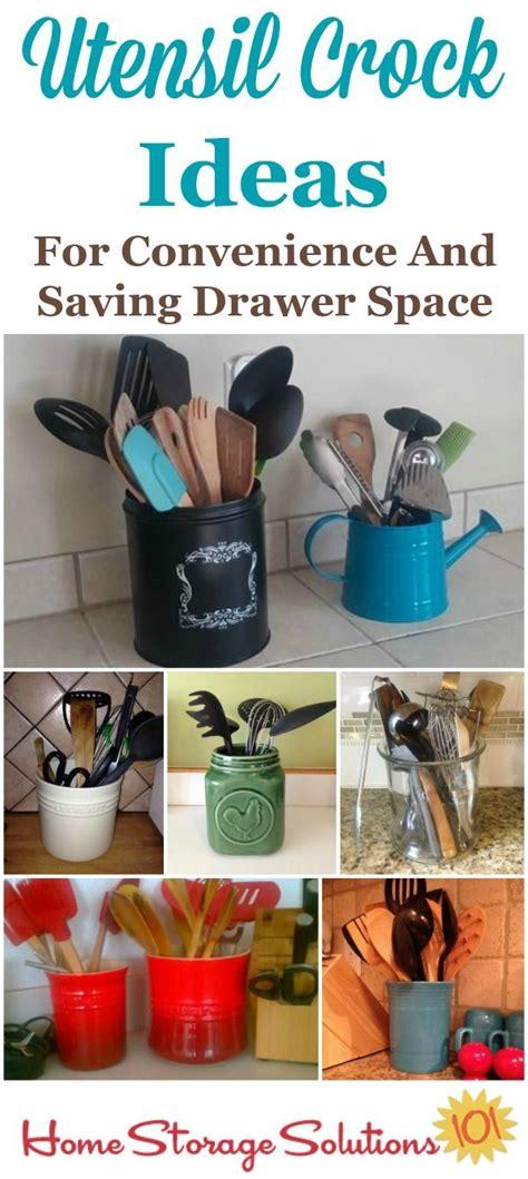 kitchen utensil storage ideas 1000 ideas about kitchen utensil storage on pinterest