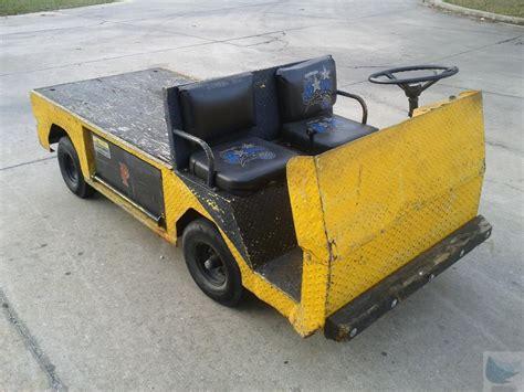 1997 cushman titan sobr flatbed electric utility cart ebay