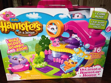 hamster house hot new toy hamsters in a house video review classy mommy
