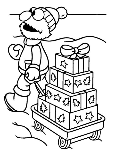 sesame street coloring page coloring home