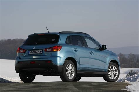 mitsubishi asx 2010 2010 mitsubishi asx coming to australia in august photos