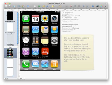 keynote themes app store mockapp posts free iphone keynote templates download here