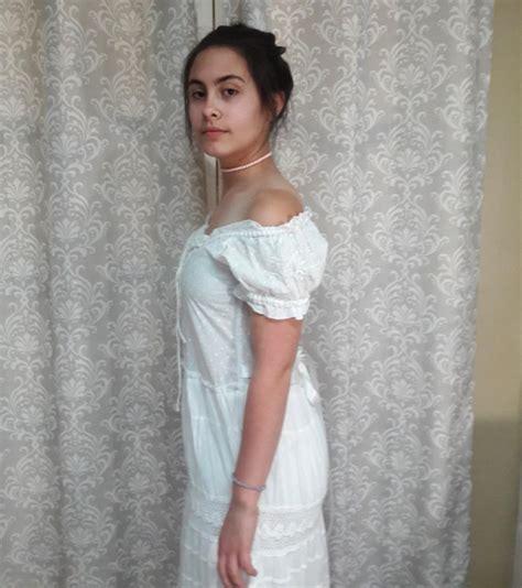 Simple Cotton Dress boho wedding dress simple cotton wedding dress