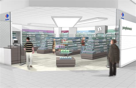 interior design concept rendering 3d carrefour pharmacy render 171 p hafer