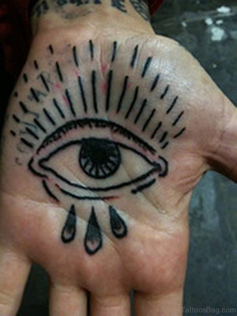 tattoo of eye in palm of hand 50 classic eye tattoos on hand